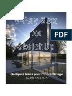 Base Pour Apprentissage de VRay 3.Xx Pour SketchUp -By JDD - 2018 (1)