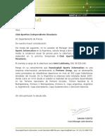 Pedido Acreditacion Anual Independiente Rivadavia