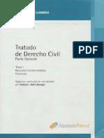 Tratado de Derecho Civil. Tomo I. Llambias