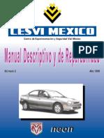 Manual Descriptivo y de Reparabilidad. Neon