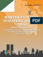 Master File Desa Sumatera Selatan 2016