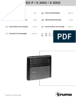 Trumatic s3002 5002 Installation Instructions