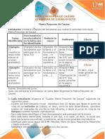 1-Matriz Resumen Y Diagrama Causa Efecto