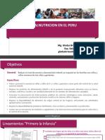 1.- Malnutrición en El Perú(1)