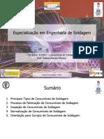 Consumíveis de Soldagem v.2014
