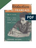 La Redaction Et Le Français.pdf
