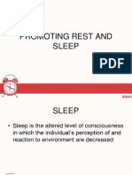 Ppt Rest and Sleep