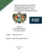TERMODINÁMICA Conversion de Unidades