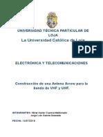 Antena Arrow -