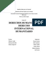 DERECHOS HUMANOS Y EL DERECHO INTERNACIONAL HUMANITARIO
