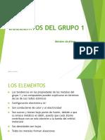 Elementos Grupo 1