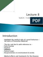 8.Sadvritta (Code of Conduct)