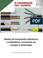 Medios de Transmisiion Alambrico y Inalambricos