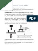 Flexural Test Manual