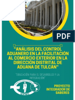 Facilitación y Control Aduanero Ecuador