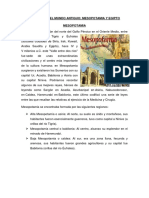 Clase 2 MH en Mesopotamia y Egipto