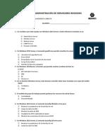 Examen Final de Administración de Servidores