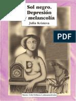 Sol negro. Depresión y melancolía - Julia Kristeva.pdf