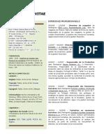 Curriculum Vitae Frances Ruben