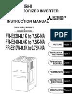 Mitsubishi e500 Manual Converted