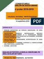 Consfaturi Socio-umane Sept 2018