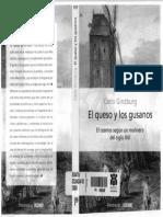 El Queso y Los Gusanos Carlo Ginzburg PDF