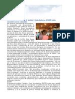 Nueva Unidad Del Sistema de Análisis Criminal y Focos (SACFI) Inicia Encuentros Con La Comunidad