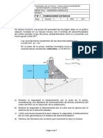 TP Nº 7 - Fundaciones en Rocas (2017)