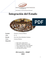 Integración Del Estado