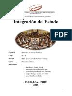 Integración Del Estado