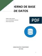 Cuaderno Base de Datos