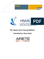 PM100 Master Data