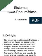 2 - Bombas centrífugas