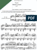 Manon Lescaut - G. Puccini