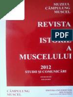 Revista de Istorie a Muscelului (2012)