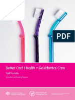 Better Oral Health in Residential Care