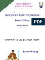 Report Writing 1