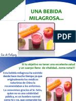 bebida milagrosa de manzana, remolacha y zanahoria