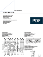 DN-HD2500 Ownersmanual Chinese