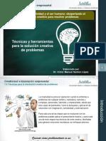 1.4. Tecnicas y Herramientas Para La Solucion Creativa de Problemas