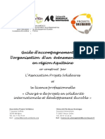Guide Organisation Evenement