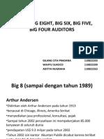 Sejarah Big Eight, Big Six, Big Ppt