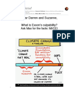 What is Exxon's culpability? Ask Max the facts!
