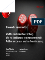 BetaCodex - 05 Case for Transformation