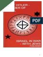 Hennecke Kardel - Adolf Hitler - Founder of Israel - Israel in War With Jews (1996) PDF