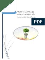 Práctica Sobre El Ahorro de Energía