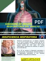 Sindrome de insuficiencia respiratoria Sin Semiologia