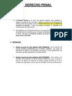 t. Derecho Penal