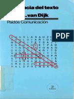 Teun A van Dijk - La Ciencia del Texto.pdf