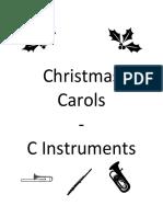 Christmas Carols C Book